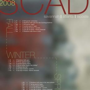 SCAD Academic Calendars