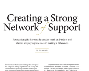 Creating a Strong Network of Support