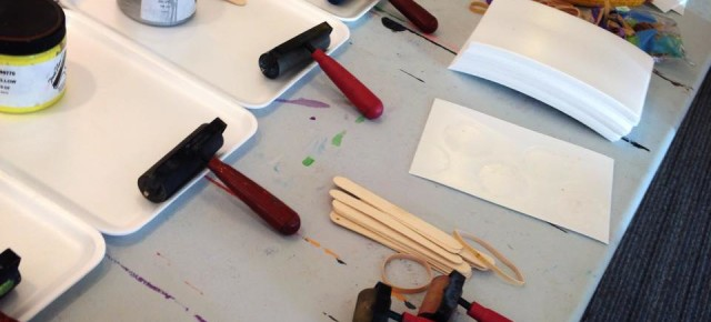 Experimental Printmaking Workshop